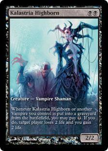Kalastria Highborn (Worldwake Game Day) (Full-Art)