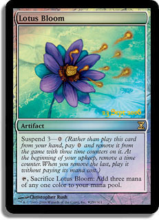 Lotus Bloom (Time Spiral Prerelease)