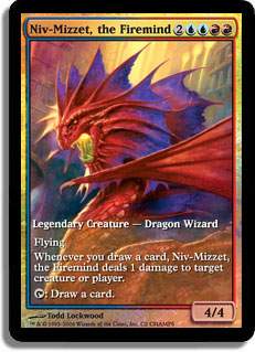 Niv-Mizzet, the Firemind (Champs 2006) (Full-Art)