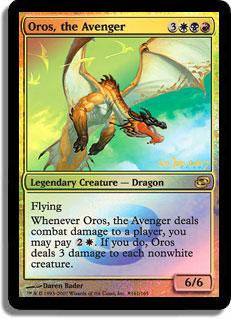 Oros, the Avenger (Planar Chaos Prerelease)