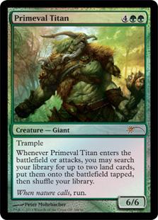 Primeval Titan (Grand Prix)