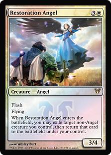 Restoration Angel (Avacyn Restored Launch)