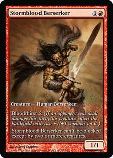 Stormblood Berserker (Magic 2012 Game Day) (Full-Art)