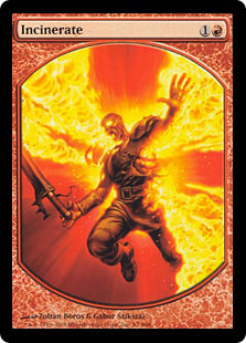 Incinerate (Player Rewards) (Textless)