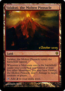 Valakut, the Molten Pinnacle (Zendikar Launch)