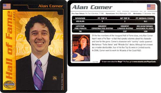 Alan Comer At Starcitygames Com
