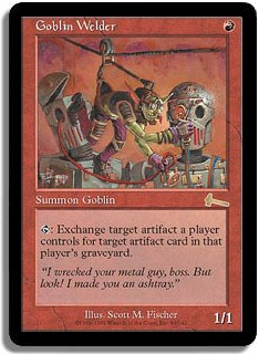 Goblin Welder (Magic card)