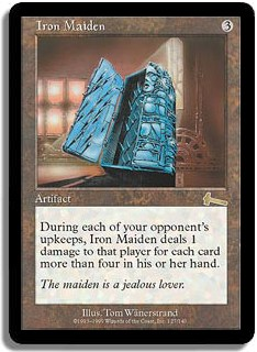 Iron Maiden (Magic card)