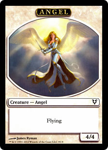 [Angel Token] | [Demon Token] (Helvault) (Double-Sided)
