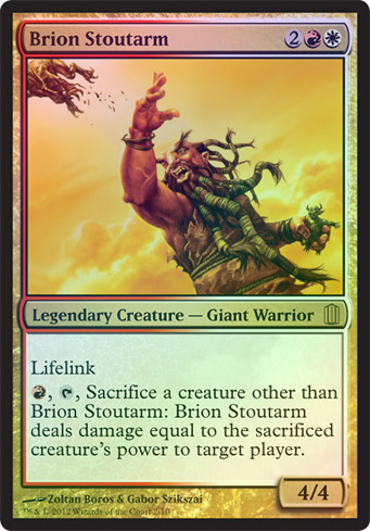 Brion Stoutarm (Arsenal) (Oversized)