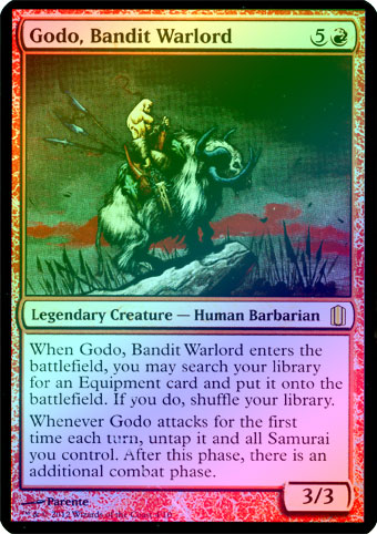 Godo, Bandit Warlord (Arsenal) (Oversized)