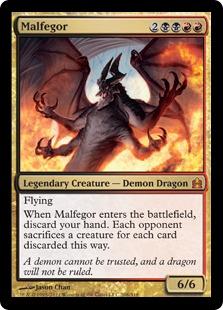 [EDH] Des mises à jours sont disponibles pour votre Kaalia Malfegor