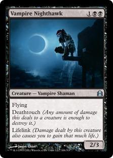 [EDH] des plaines et des marais où sacrifier des tokens VampireNighthawk