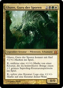 Ghave, Guru of Spores (Commander 2011) (Oversized)