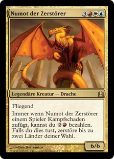 Numot, the Devastator (Commander 2011) (Oversized)
