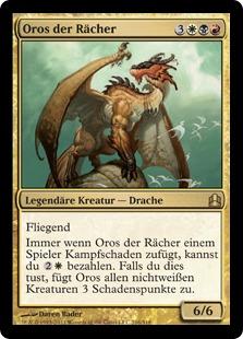 Oros, the Avenger (Commander 2011) (Oversized)