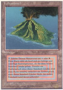 Volcanic Island (3rd Edition WB)