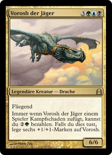 Vorosh, the Hunter (Commander 2011) (Oversized)