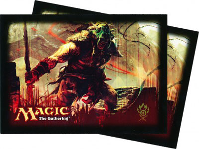 Ultra Pro Magic Sleeves - Gatecrash - Skarrg Guildmage (Gruul) (80 ct.)