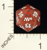 Magic Spindown Die - 2010 Core Set - Red
