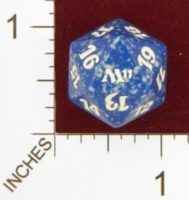Magic Spindown Die - Magic 2011 Core Set - Blue