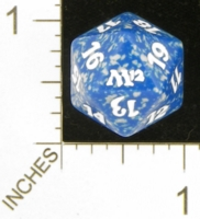 Magic Spindown Die - Magic 2012 Core Set - Blue