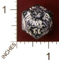 Magic Spindown Die - 2013 Core Set - Black