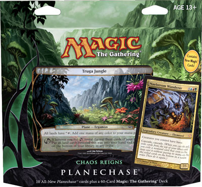 Planechase 2012 Game Pack - Chaos Reigns