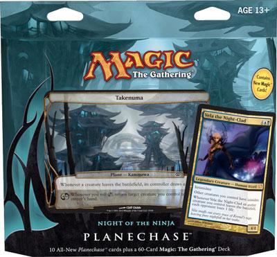 Planechase 2012 Game Pack - Night of the Ninja
