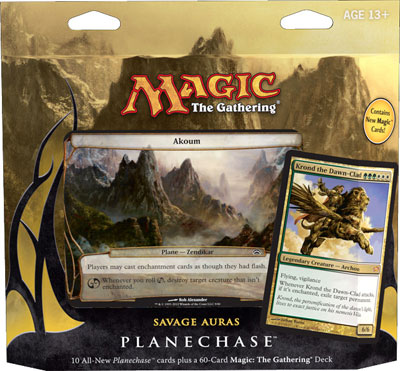 Planechase 2012 Game Pack - Savage Auras
