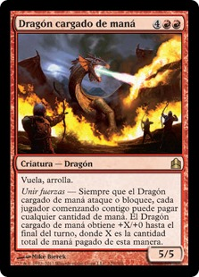 Mana-Charged Dragon (Commander 2011)