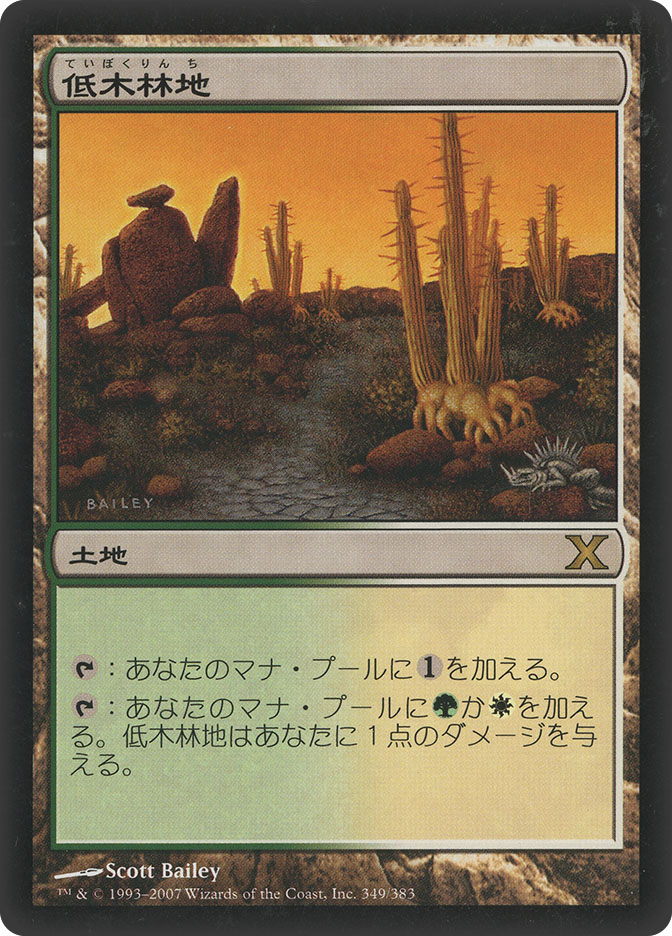 Brushland (10th Edition)