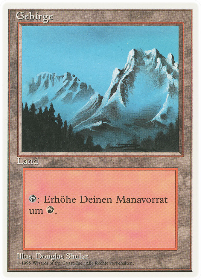 Mountain (A) (3rd Edition WB)