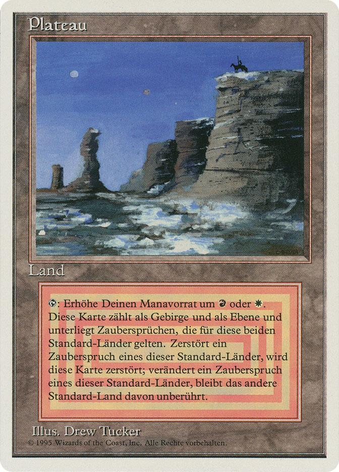 Plateau (3rd Edition WB)