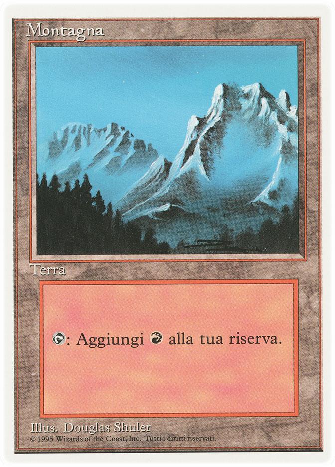Mountain (A) (3rd Edition WB)