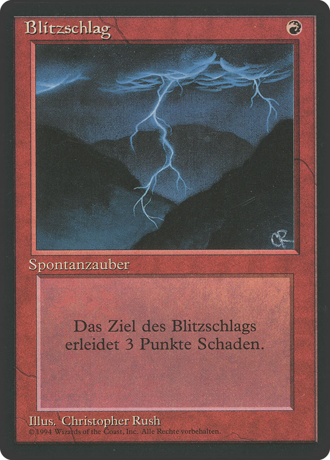 Lightning Bolt (3rd Edition BB)