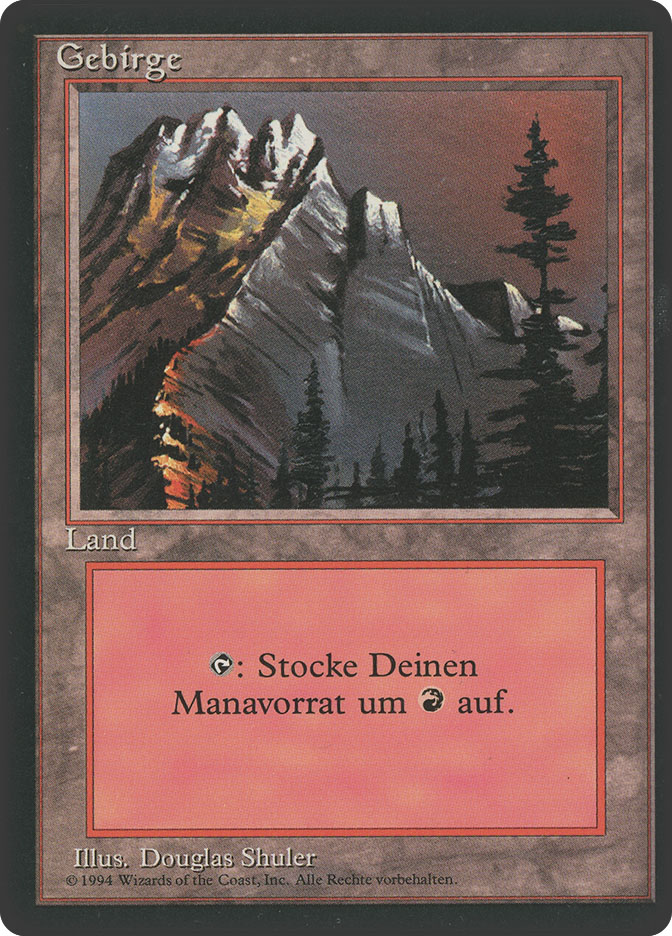 Mountain (B) (3rd Edition BB)