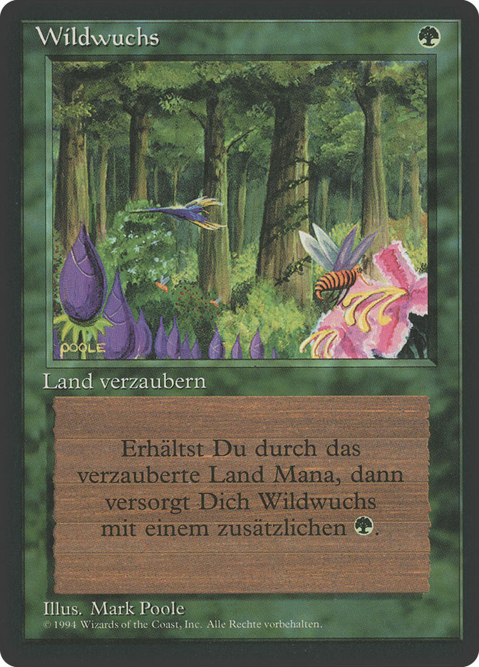 Wild Growth (3rd Edition BB)