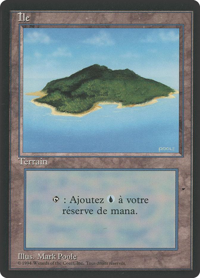Island (A) (3rd Edition BB)