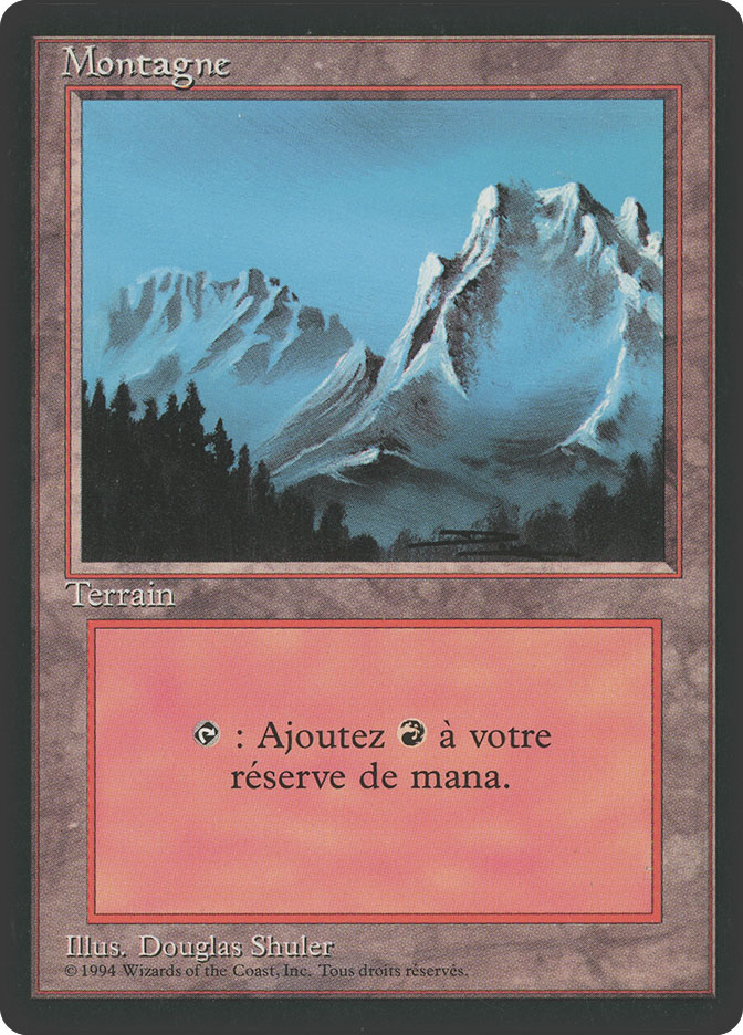 Mountain (A) (3rd Edition BB)