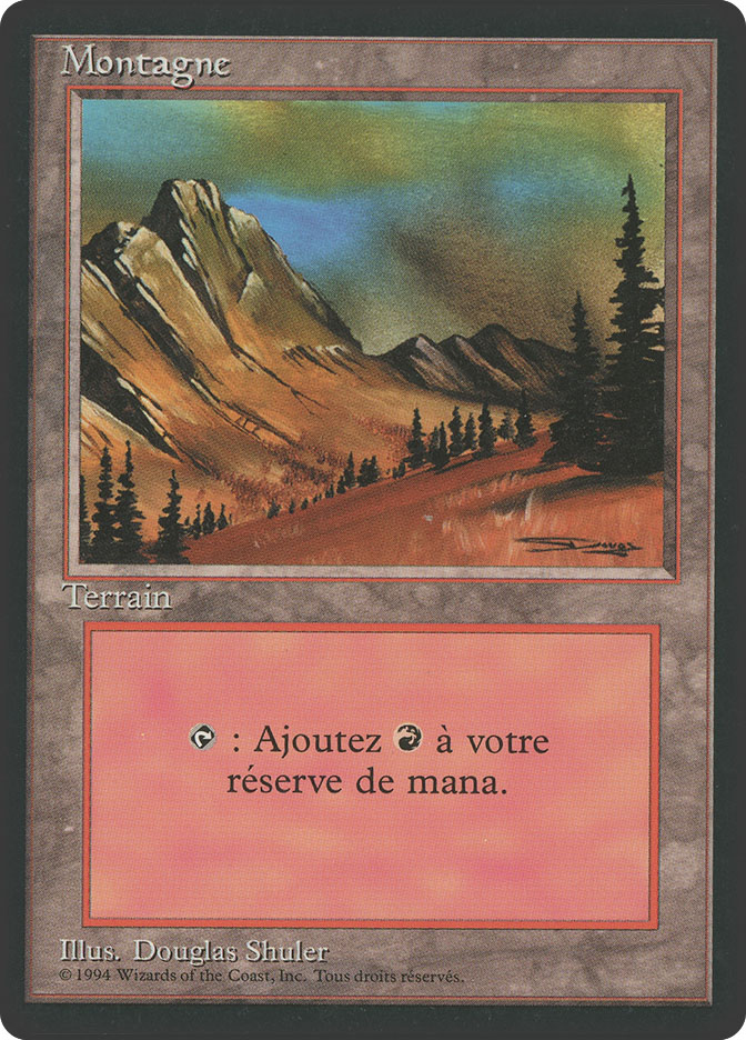 Mountain (C) (3rd Edition BB)