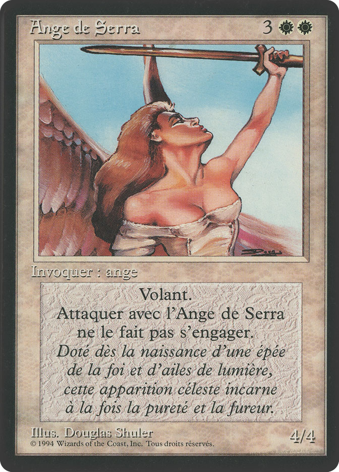 Serra Angel (3rd Edition BB)