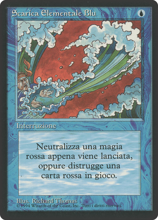 Blue Elemental Blast (3rd Edition BB)
