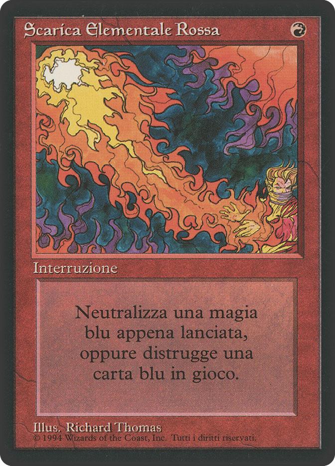 Red Elemental Blast (3rd Edition BB)