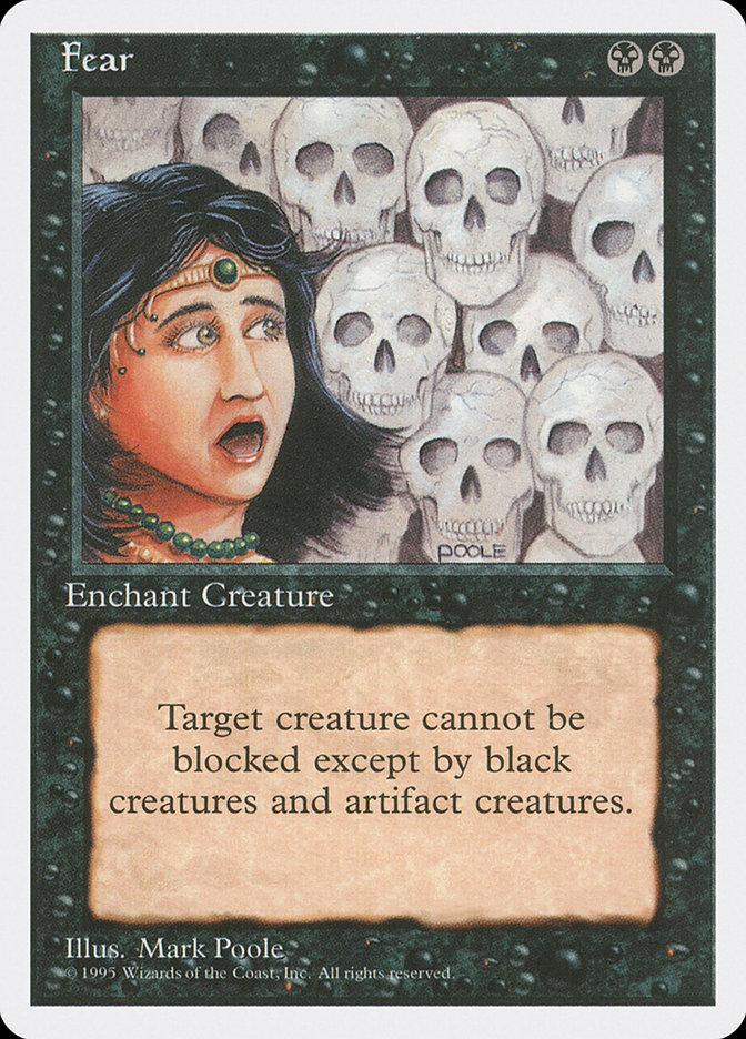 Fear (Alpha-cut 4th Edition)