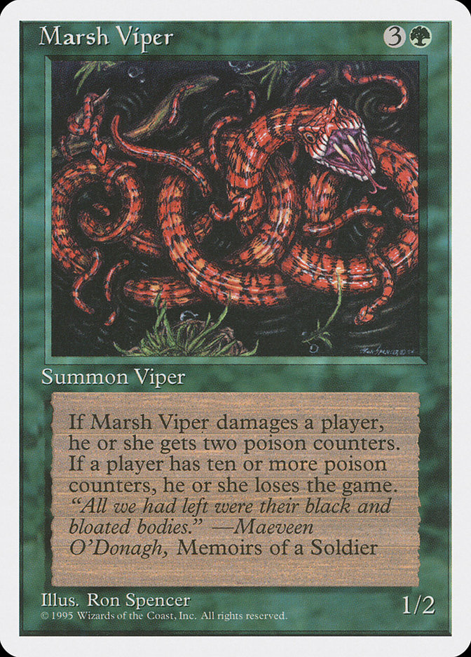 Marsh Viper (Alpha-cut 4th Edition)