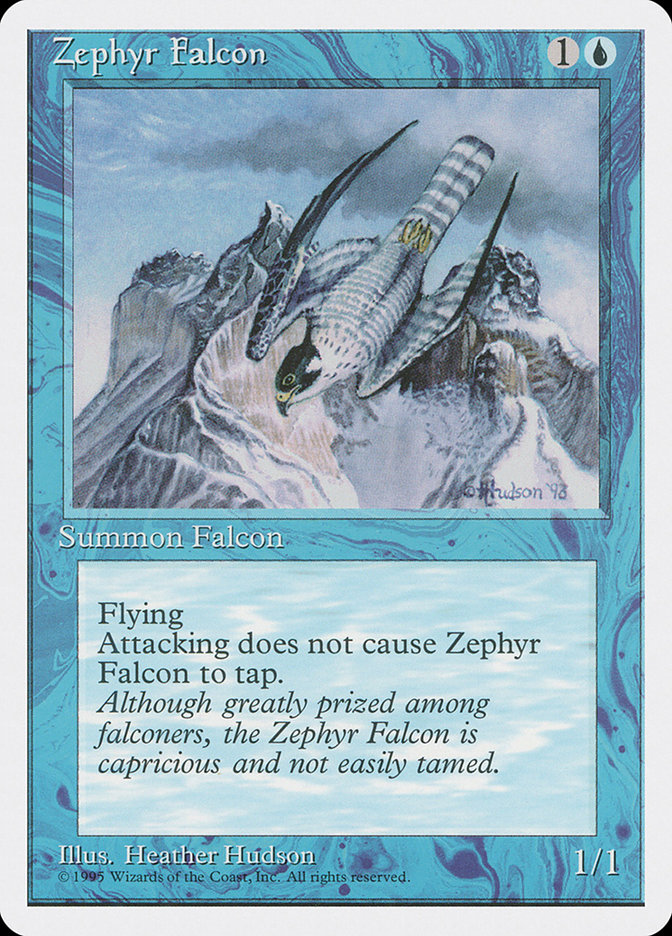 Zephyr Falcon (Alpha-cut 4th Edition)