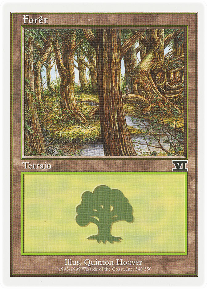 Forest (#348) (6th Edition)