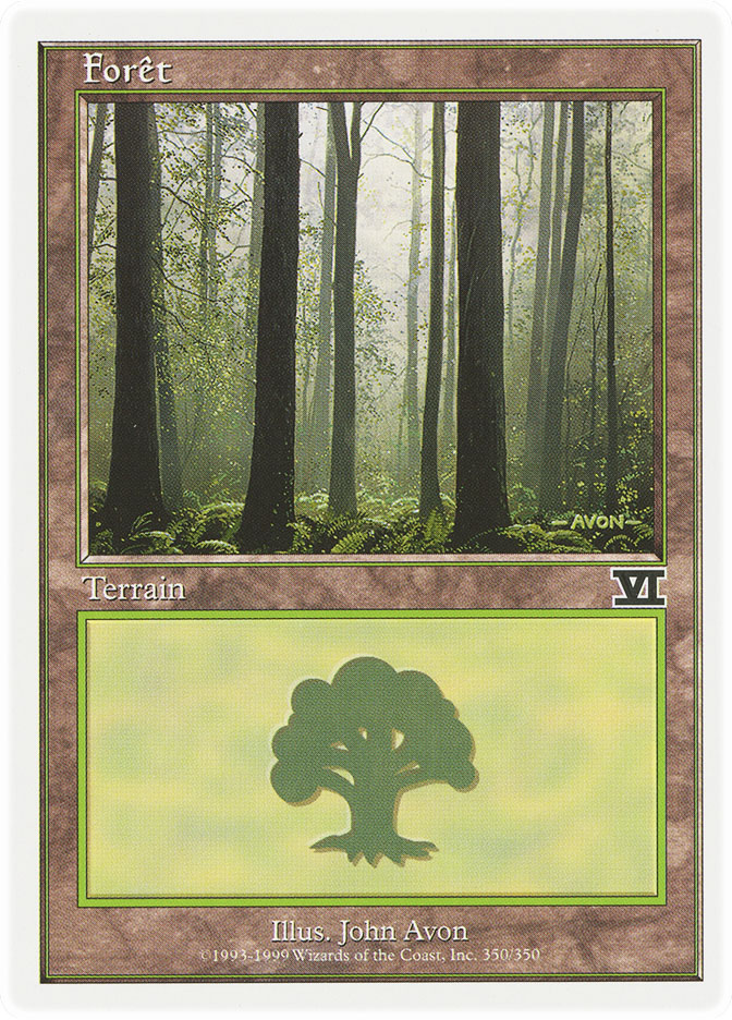 Forest (#350) (6th Edition)