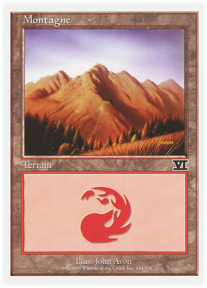 Mountain (#344) (6th Edition)